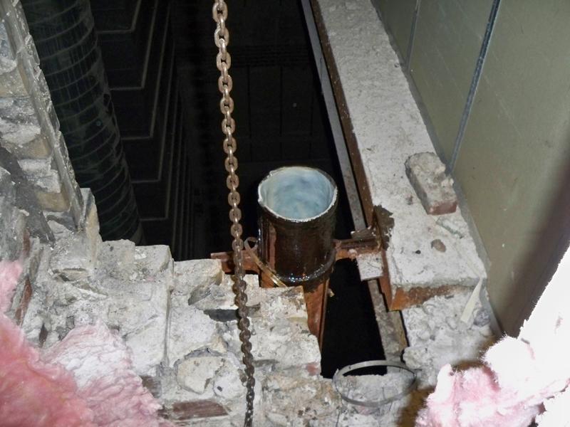 Leaking Drains in SoHo