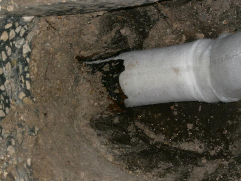 Broken Sewer Pipe New York